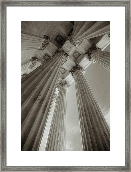 Usa, Washington, Dc, Supreme Court Framed Print