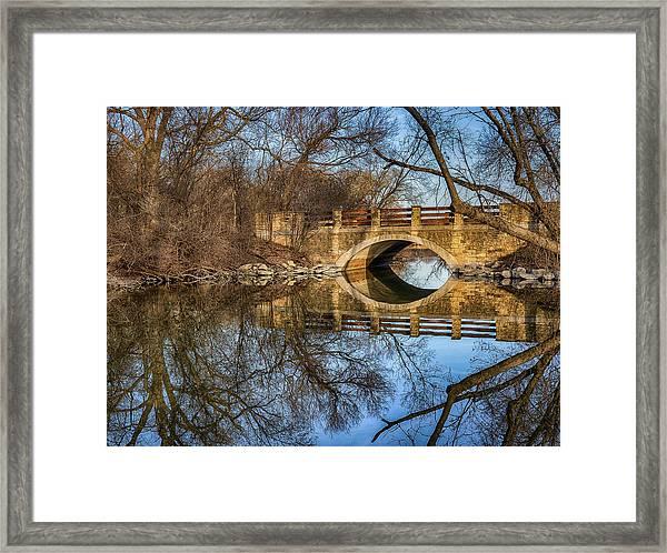 Uw Arboretum  Framed Print