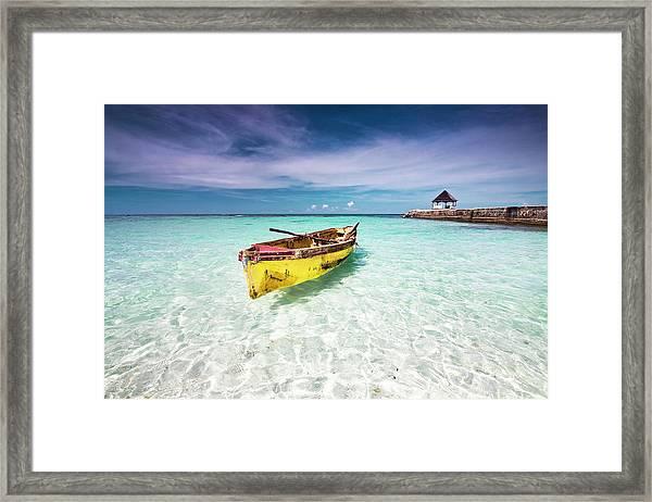 Vacation Framed Print