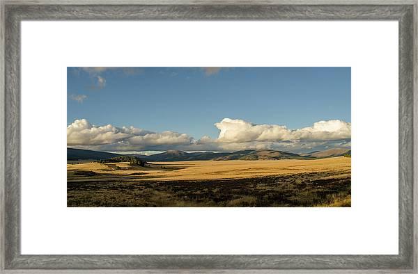 Valles Caldera National Preserve II Framed Print