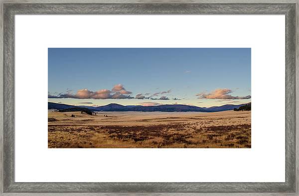 Valles Caldera National Preserve Framed Print