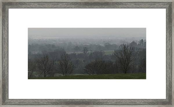 Valley Dawn  Framed Print