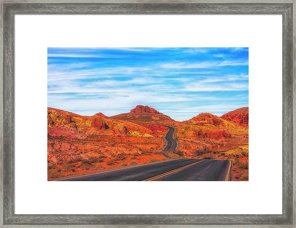 Valley Road Framed Print by Fernando Margolles