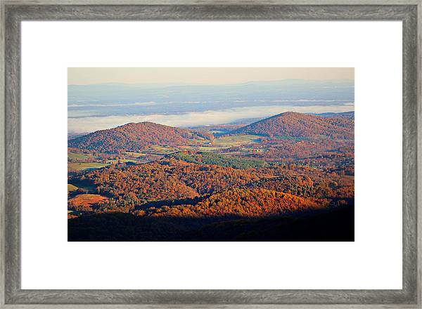 Framed Print featuring the photograph Valley View by Candice Trimble