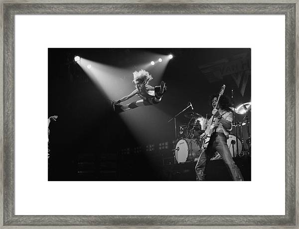 Van Halen At The Rainbow Framed Print