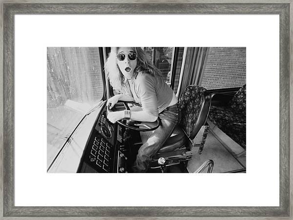 Van Halen In Lewisham Framed Print