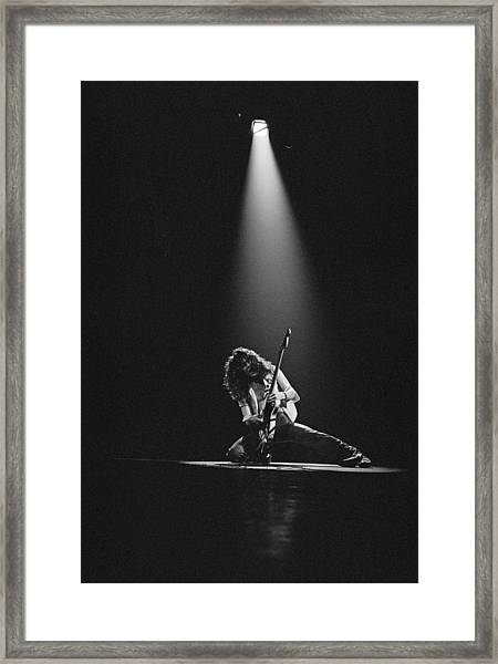 Van Halen Live At The Rainbow Framed Print