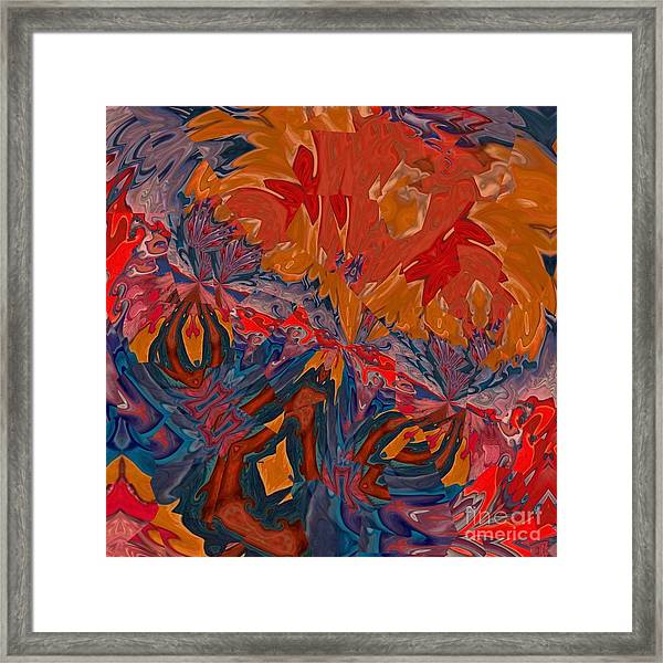 Framed Print featuring the digital art Van Mam by A zakaria Mami