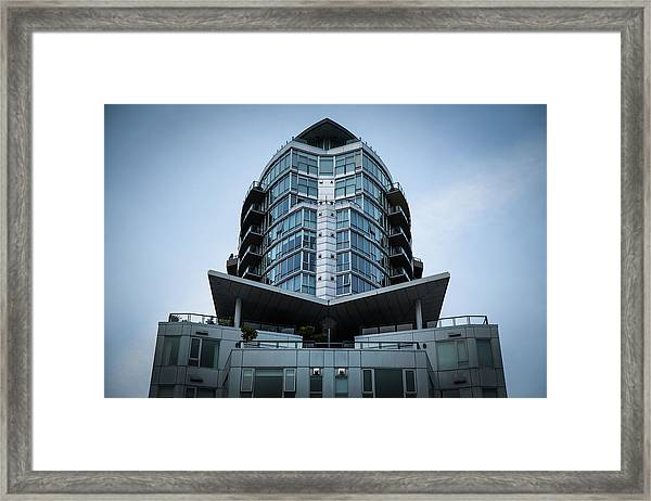Framed Print featuring the photograph Vancouver Architecture by Juan Contreras