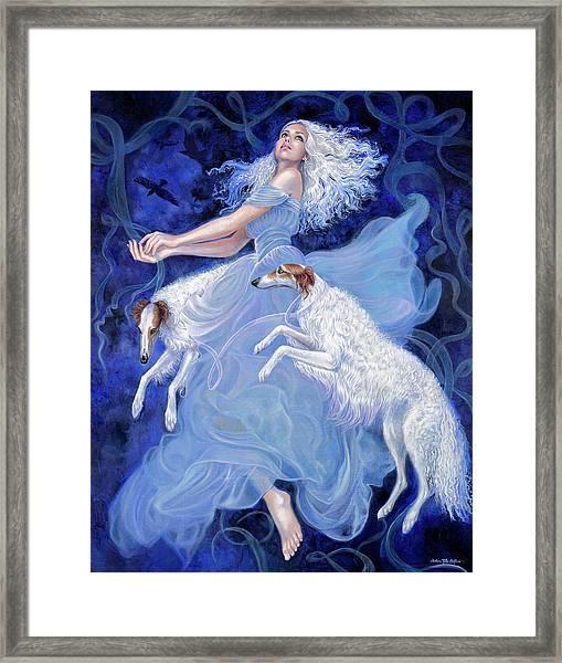 Vapor Framed Print by Barbara Tyler Ahlfield