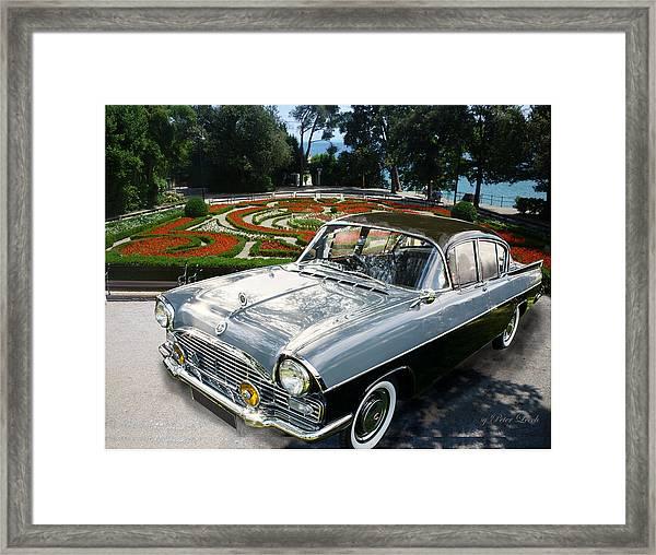 Vauxhall Cresta In Croatia Framed Print