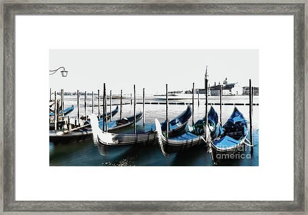 Venezia High-key, Italy Framed Print
