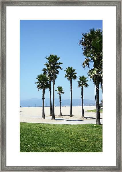Venice Beach, California Framed Print