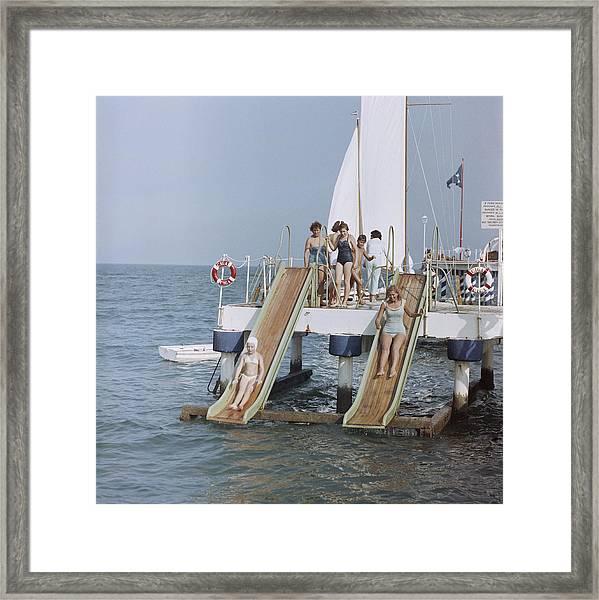 Venice Vacation Framed Print