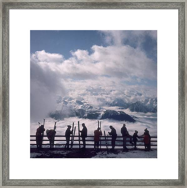 Verbier View Framed Print