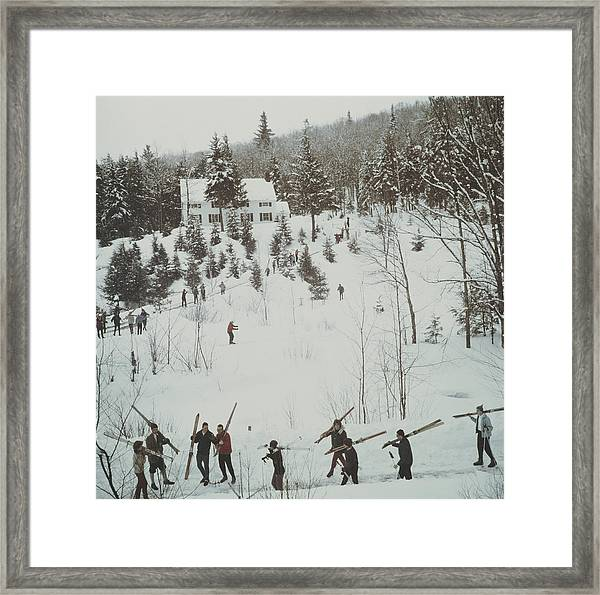Vermont Winter Framed Print
