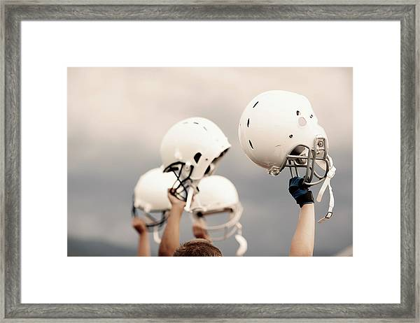 Victory Framed Print by Richvintage