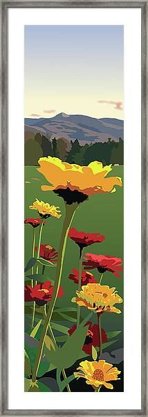 View From Whitegate Framed Print by Marian Federspiel