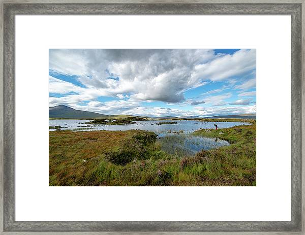 View In Glencoe, Scotland Framed Print