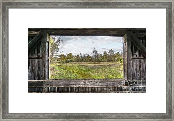 View Into Ohio's Nature Framed Print