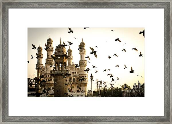 View Of Charminar, Hyderabad. India Framed Print
