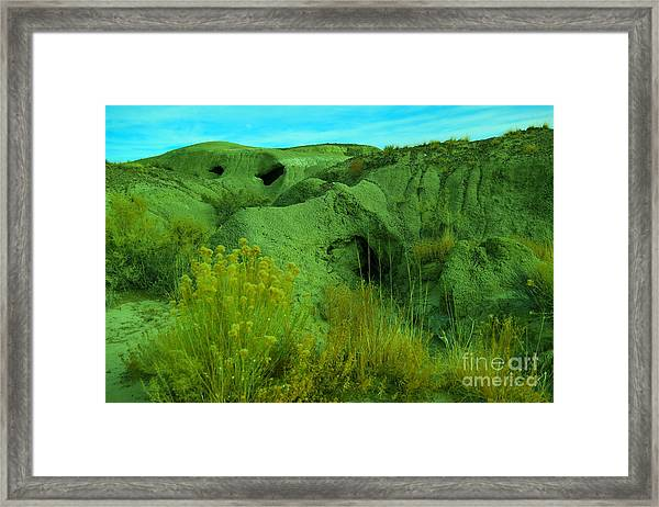 View Within The Bisti Badlands Framed Print