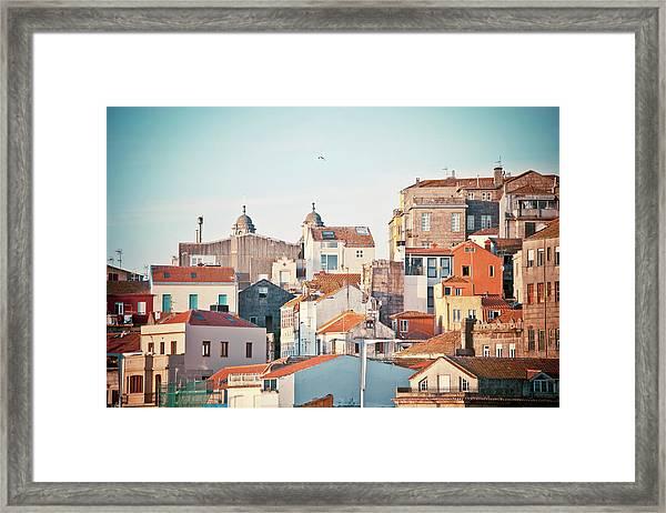 Vigo View Framed Print