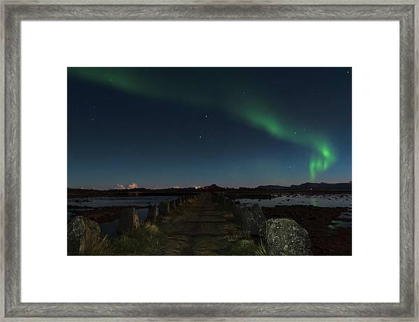 Viking Path Framed Print