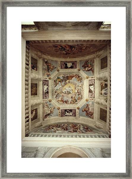 Villa Barbaro, Maser Framed Print by Slim Aarons