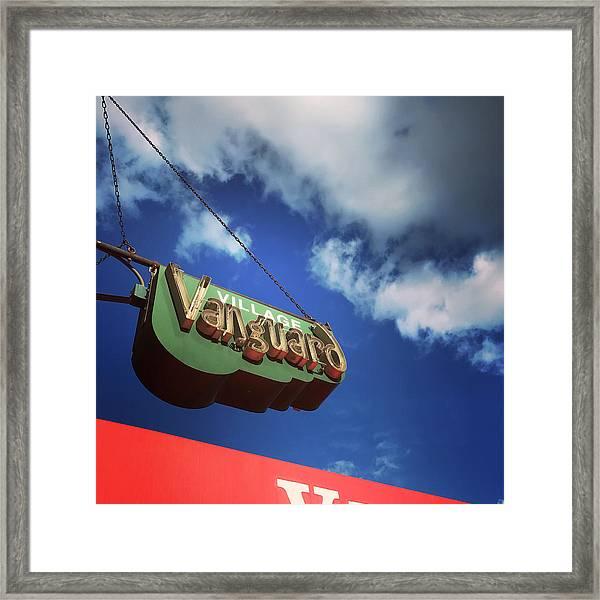 Village Vanguard Framed Print by Michael Gerbino