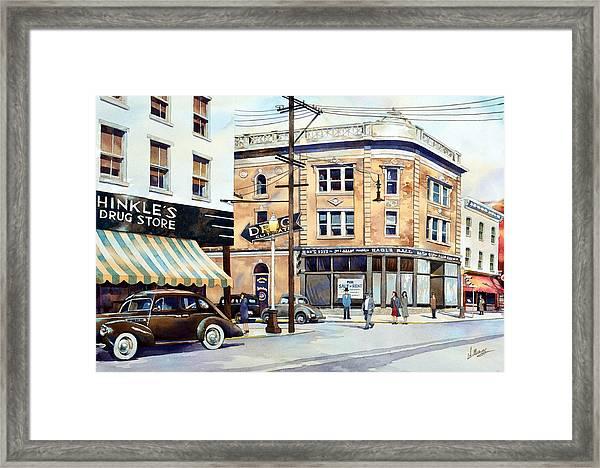 Vintage Color, Hinkle's Framed Print