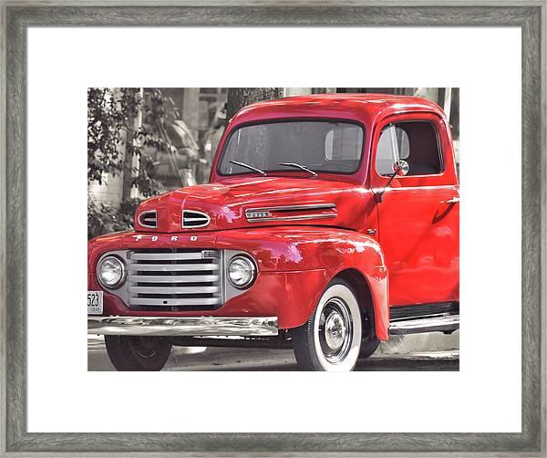 Vintage Ford Framed Print