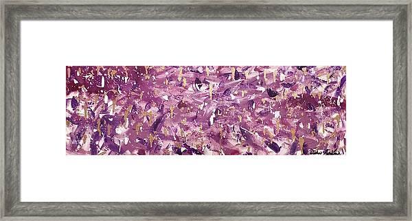 Violaceous Framed Print