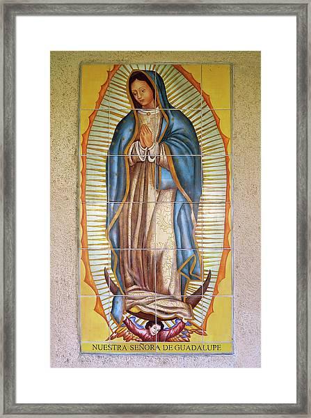 San Gabriel Mission - Nuestra Senora De Guadalupe Framed Print