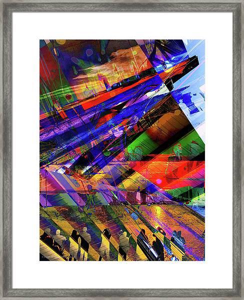 Visions Of Ghostlands Paul Framed Print