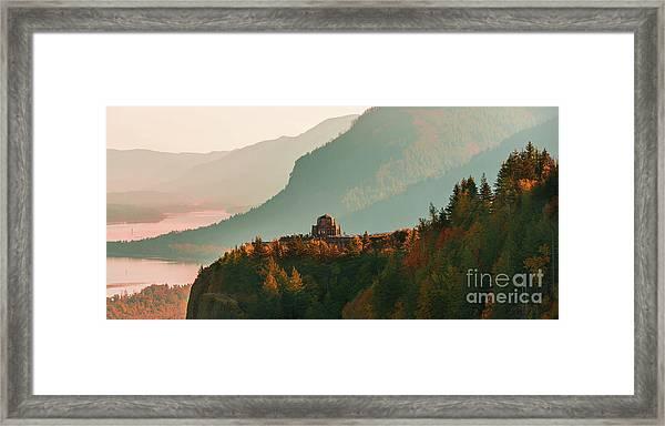 Vista House Framed Print