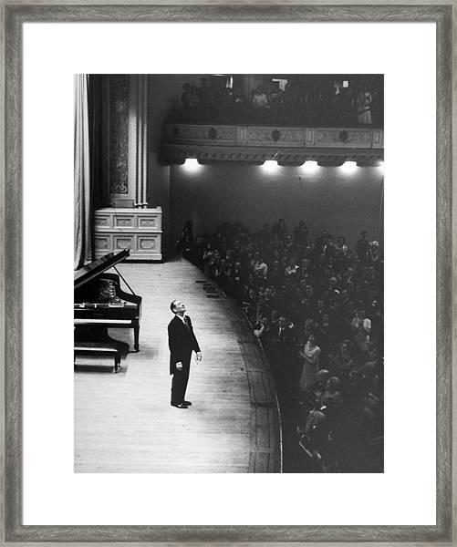 Vladimir Horowitz Framed Print