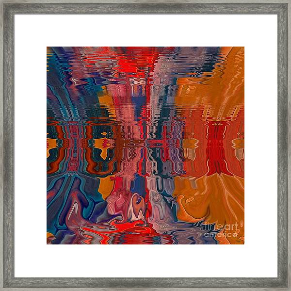 Framed Print featuring the digital art Von Freestyle by A zakaria Mami