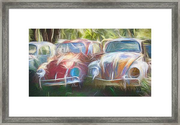 Vw Beetle Framed Print