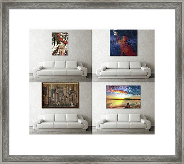 Wall Art Samples Framed Print