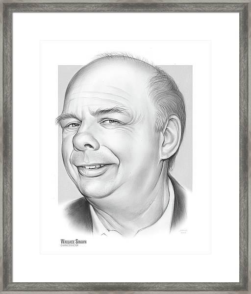 Wallace Shawn Framed Print