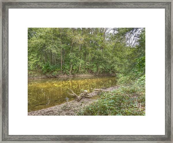 Walnut Creek Framed Print
