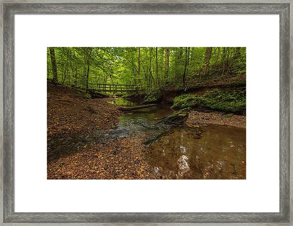 Walnut Creek Framed Print
