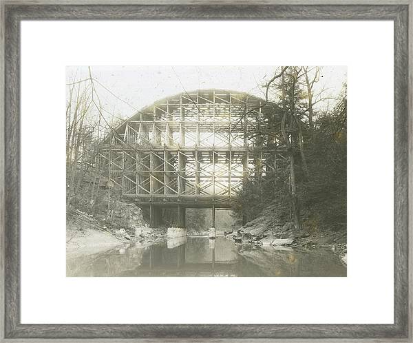 Walnut Lane Bridge Framed Print
