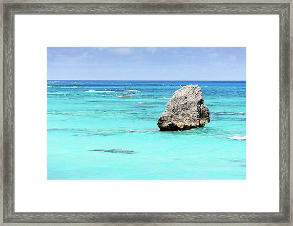 Warwick Long Bay Framed Print