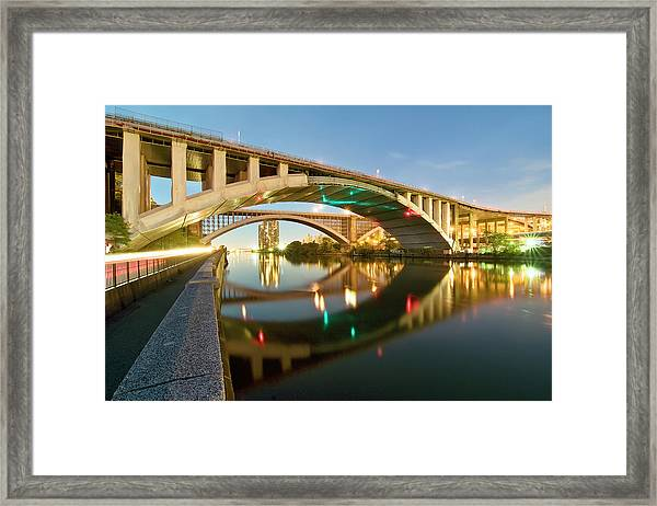 Washington Bridge Framed Print