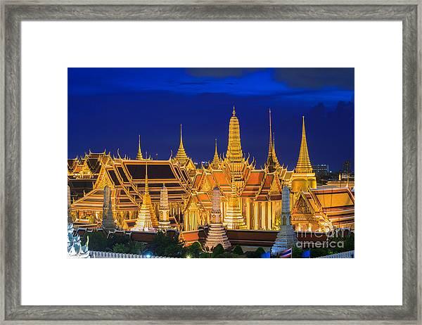 Wat Phra Kaew, Temple Of The Emerald Framed Print