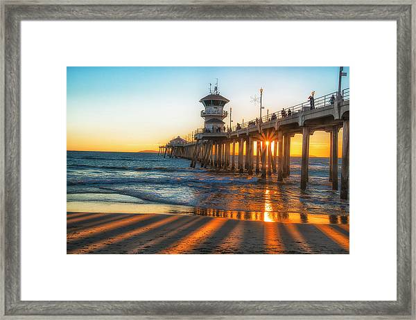 Watching The Sunset Framed Print by Fernando Margolles
