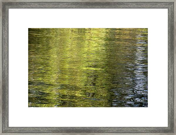 Water Reflection_521_17 Framed Print