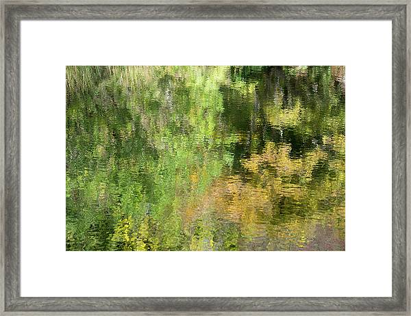 Water Reflection_598_17 Framed Print